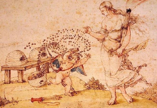 Купидон ворует мед