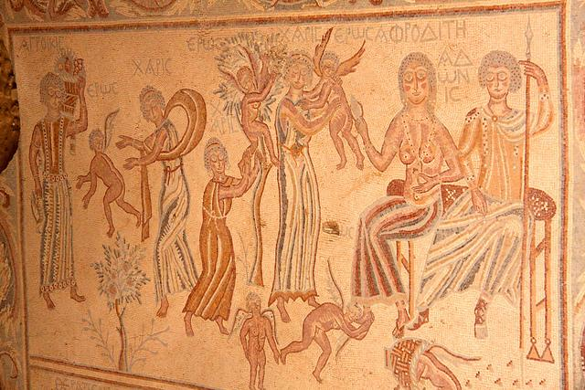 Адонис и Афродита, мифы Греции