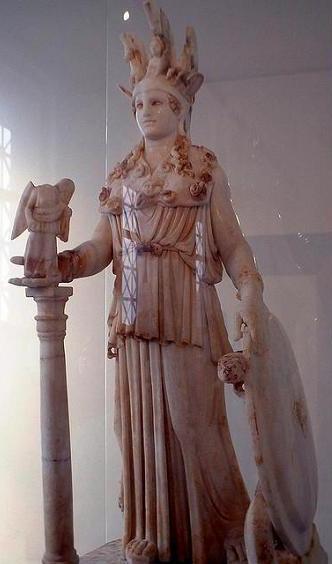 Афина Паллада Фидия