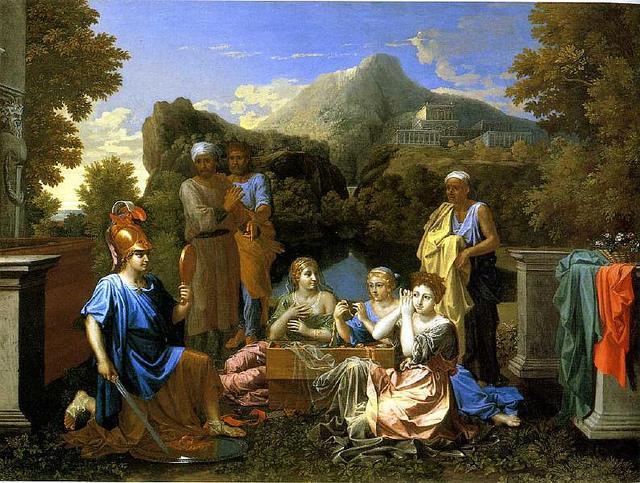 Ахилл среди дочерей Ликомеда