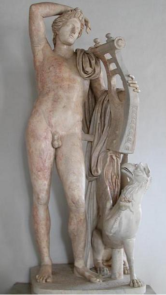 бог Аполлон, грифон