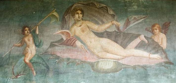 богиня Афродита, Помпеи