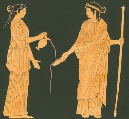 Геба, богиня юности