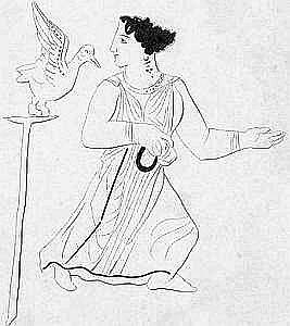 кукушка и богиня Гера, миф