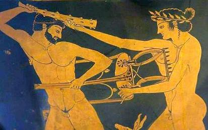 Геракл и треножник Пифии