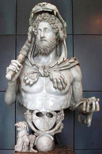 император Коммод в виде Геракла