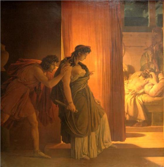 Эгисф, Клитемнестра, Герен, древнегреческий миф