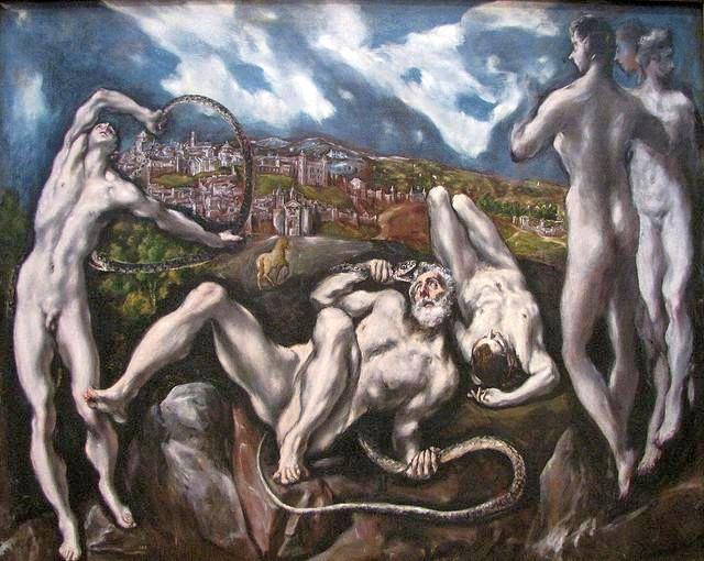 троянский конь, Лаокоон, Эль Греко