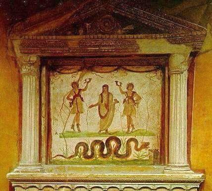 домашние боги лары и пенаты