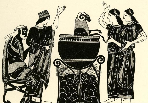 Медея, дочери Пелия, Пелий