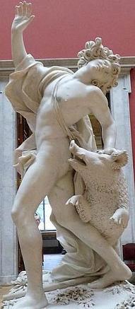 Адонис и вепрь, миф об Адонисе