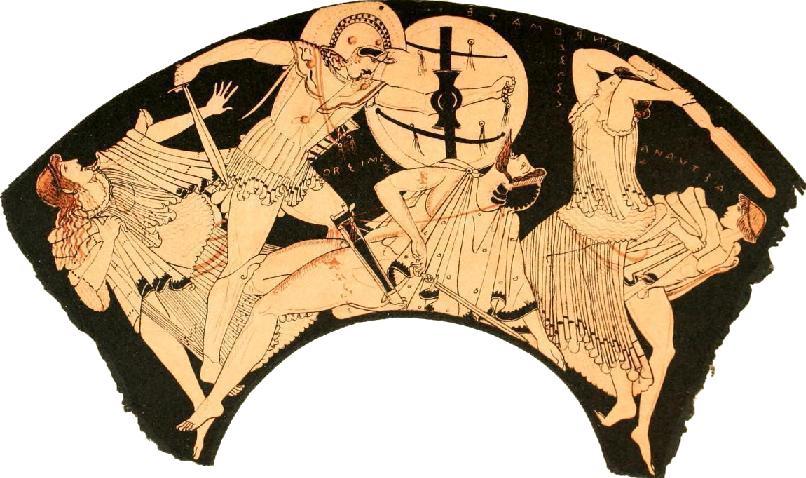 взятие Трои греками