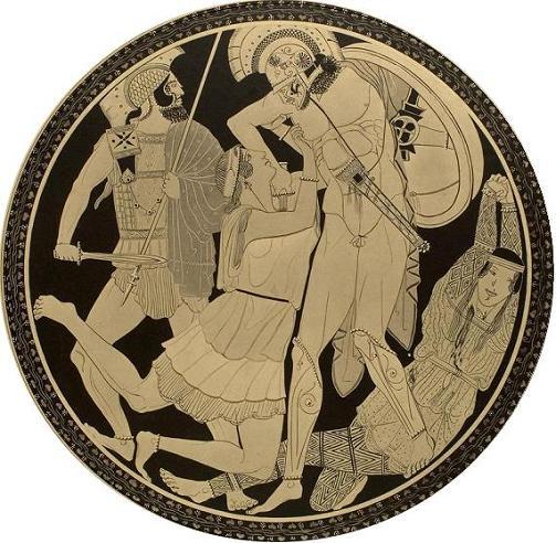 Ахиллес и Пенфесилея