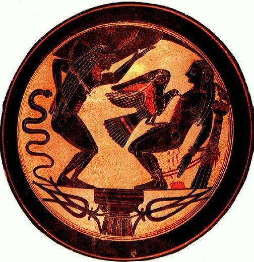 миф о Прометее и орле Зевса
