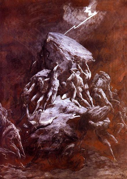 битва с титанами, титаномахия