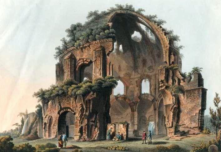 храм Минервы Целительницы, нимфеум