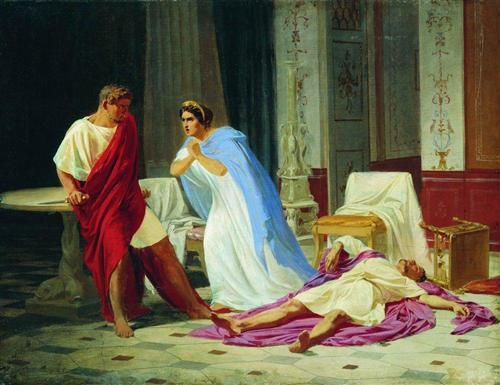 убийство у древних римлян