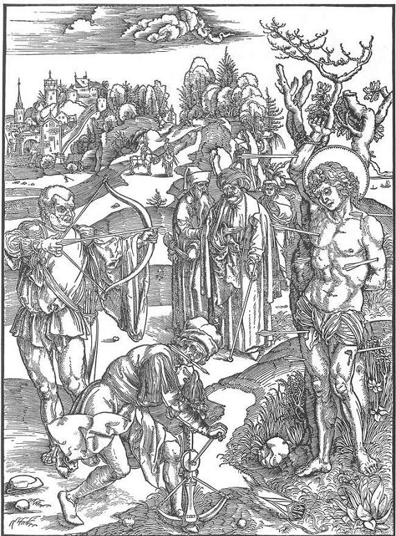 дюрер святой себастьян